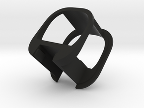 Pariah v3 part-2 (MicroUSB holder) in Black Natural Versatile Plastic
