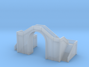 Railway Foot Bridge 1/500 in Smooth Fine Detail Plastic