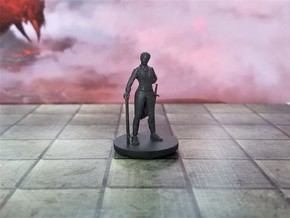 Human Female Butler Monk in Smooth Fine Detail Plastic