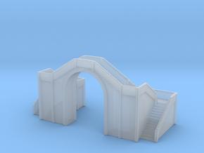 Railway Foot Bridge 1/700 in Smooth Fine Detail Plastic