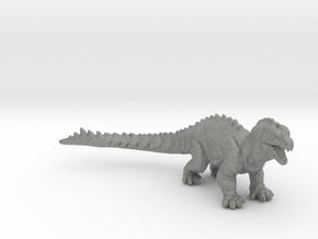 Rhedosaurus kaiju 35mm miniature beast 20k fathoms in Gray PA12
