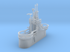 1/350 US Gato Conning Tower (Fairwater) in Smoothest Fine Detail Plastic