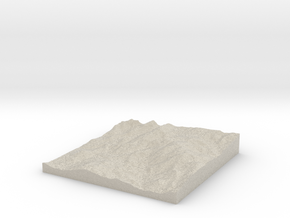 Pikes Peak Test w/Shell in Natural Sandstone