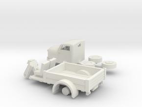 Nemo chassis and cabin  TT schale in White Natural Versatile Plastic