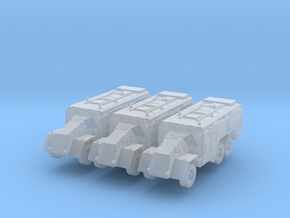 AEC Dorchester 6x6 HP (x3) 1/285 in Smooth Fine Detail Plastic