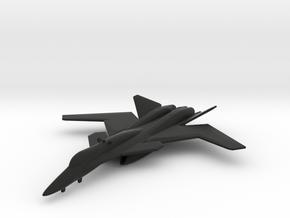 X-02 Wyvern in Black Natural Versatile Plastic: 1:200