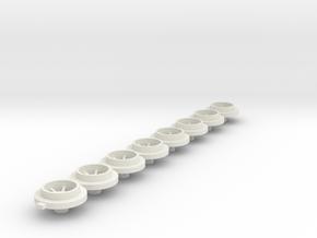 Artin_narrow_rear in White Natural Versatile Plastic