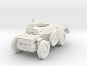 Sawed-Off Daimler AC 1/72 in White Natural Versatile Plastic