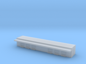 1:400 Cargo Building in Smooth Fine Detail Plastic