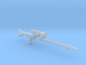 DLT-19x targeting blaster 3.75 scale in Smooth Fine Detail Plastic