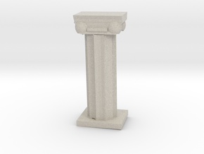 Greek Column in Natural Sandstone