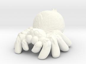 Scoots the tarantula in White Processed Versatile Plastic