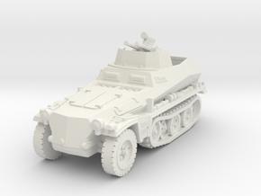Sdkfz 250/4 A Anti Aircraft 1/56 in White Natural Versatile Plastic