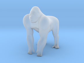 S Scale Gorilla in Smooth Fine Detail Plastic