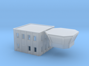1:400 Fire Station Building 2 in Smooth Fine Detail Plastic