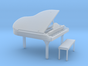 S Scale Grand Piano in Smooth Fine Detail Plastic