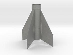 Astrobee D Fin Unit BT50 for 18mm motors in Gray PA12