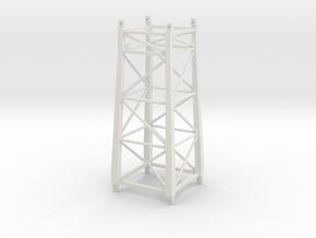 Booster tower Liebherr 630 to Potain MDT178 in White Natural Versatile Plastic