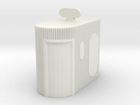 Street Toilet 1/64 in White Natural Versatile Plastic