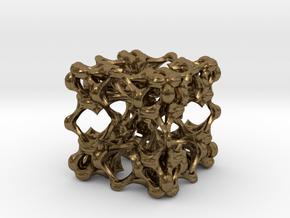 Fractal Box KP5 in Natural Bronze