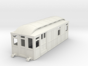 b100-district-railway-electric-loco in White Natural Versatile Plastic
