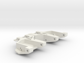 rc10 6205 classic front arms in White Natural Versatile Plastic