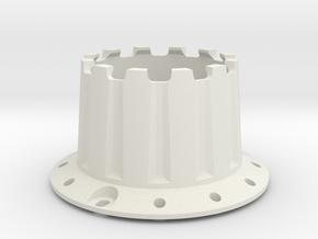 PSI - Light Chamber 2 (Back) in White Natural Versatile Plastic