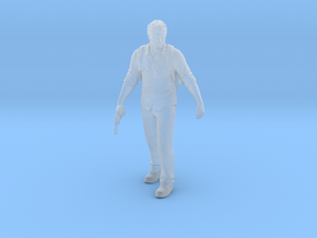 Last Of Us Joel 1/60 miniature games TLOU rpg in Smooth Fine Detail Plastic