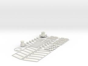 KITE FLYER  - Full Kit in White Natural Versatile Plastic