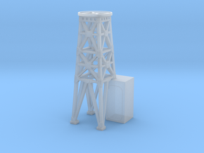 1/240 USS Ward Searchlight Tower in Smooth Fine Detail Plastic