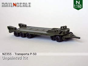 Transporta P-50 (N 1:160) in Smooth Fine Detail Plastic