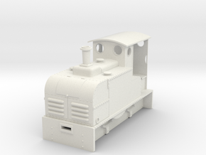 On18/O9 Ruston Proctor Oil loco  in White Natural Versatile Plastic