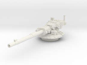 M1128 Stryker MGS Turret 1/56 in White Natural Versatile Plastic