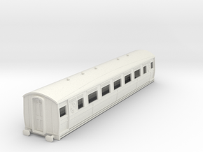 0-87-ltsr-ealing-3rd-class-coach in White Natural Versatile Plastic