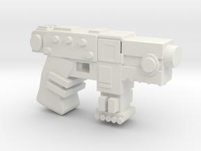 Primaris Bolt Pistol in White Natural Versatile Plastic