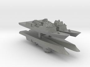 Fincantieri FFG(X) Wargaming x4 in Gray PA12: 1:2400