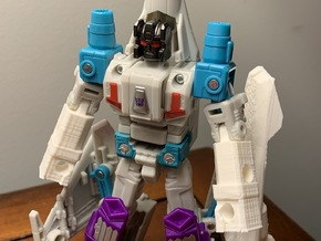 Ramjet Arms Conversion for Dreadwind in White Natural Versatile Plastic