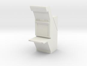 Air Traffic Control Console 1/35 in White Natural Versatile Plastic