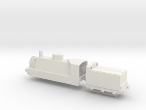 14 18 french armoured locomotive ww1 1/76 hornby in White Natural Versatile Plastic