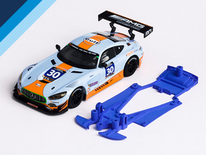 1/32 Scalextric AMG Mercedes GT3 Chassis NSR pod in White Natural Versatile Plastic