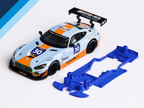 1/32 Scalextric AMG Mercedes GT3 Chassis S.it pod in White Natural Versatile Plastic
