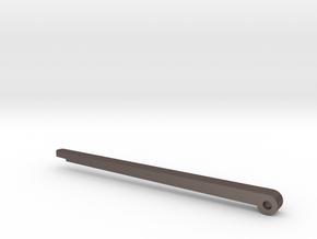 Hero Belt Buckle part 3 - pin in Polished Bronzed-Silver Steel