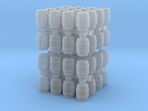 Wooden Barrel (x64) 1/220 in Smooth Fine Detail Plastic