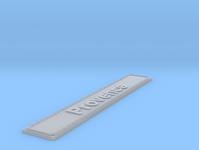 Nameplate Provence in Smoothest Fine Detail Plastic