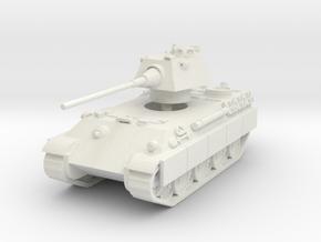 Panther F (schurzen) 1/76 in White Natural Versatile Plastic