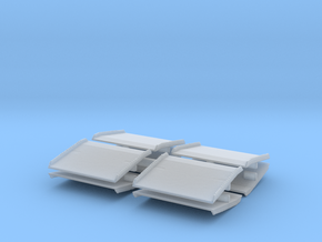 Warehouse Dock Board (x8) 1/160 in Smooth Fine Detail Plastic