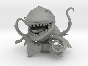 Audrey Maneater plant 60mm miniature horror games  in Gray PA12