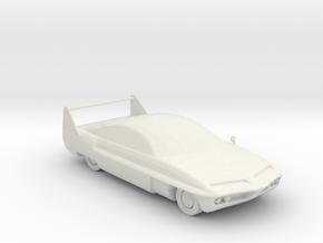 Saloon v2 1:160 scale in White Natural Versatile Plastic