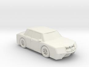 BG LUX 600 1:160 scale in White Natural Versatile Plastic