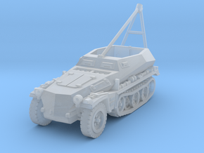 Sdkfz 250 A ARV Crane 1/144 in Smooth Fine Detail Plastic